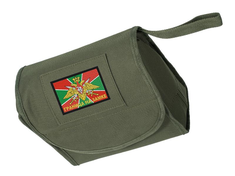 """Мужская сумка-несессер """"Погранвойска"""" с удобной доставкой"""