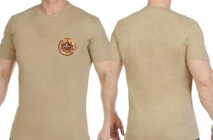 Мужская светлая футболка АФГАН - купить с доставкой