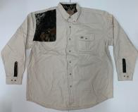 Мужская светлая рубашка Mossy Oak
