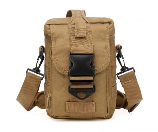 Мужская тактическая сумка на плечо и пояс MOLLE купить недорого