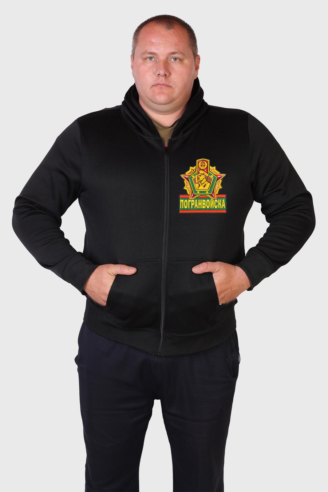 Купить мужскую толстовку с эмблемой Погранвойск