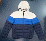 Мужская трехцветная куртка