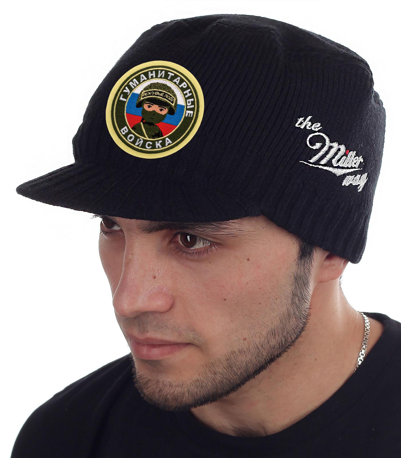 Мужская утепленная шапка-кепка от Miller Way - заказать онлайн