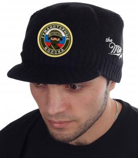 Мужская утепленная шапка-кепка от Miller Way - заказать в подарок