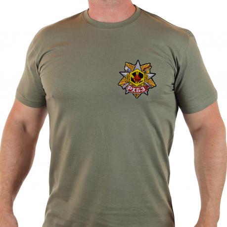 Мужская военная футболка РХБЗ