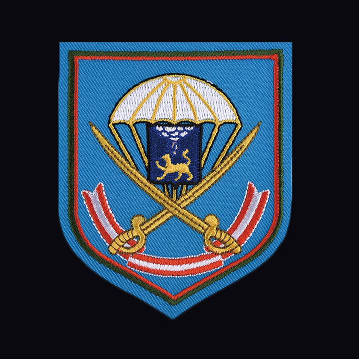 Мужская военная футболка с вышитой эмблемой ВДВ 104 ПДП - заказать в подарок