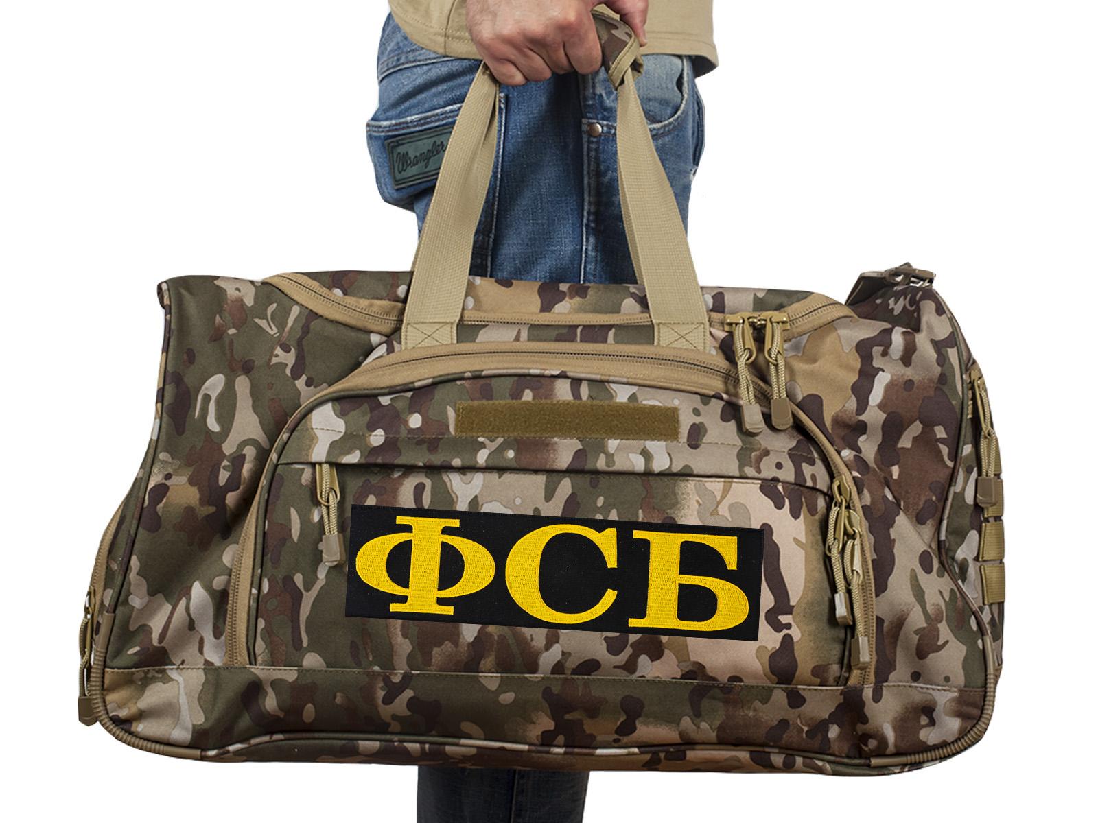 Купить мужскую военную сумку ФСБ, код 08032B по специальной цене онлайн