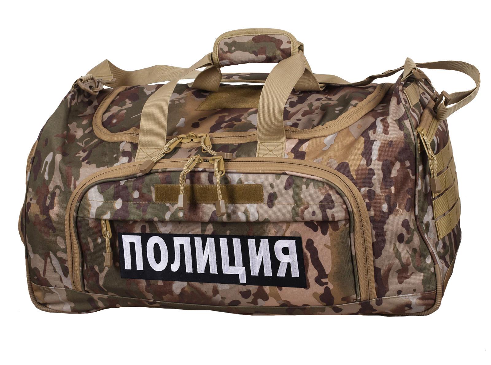 Мужская военная сумка Полиция, код 08032B