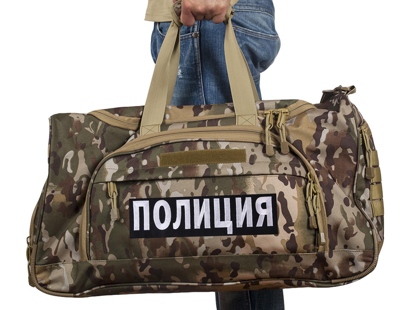 Купить мужскую военную сумку Полиция, код 08032B с доставкой онлайн
