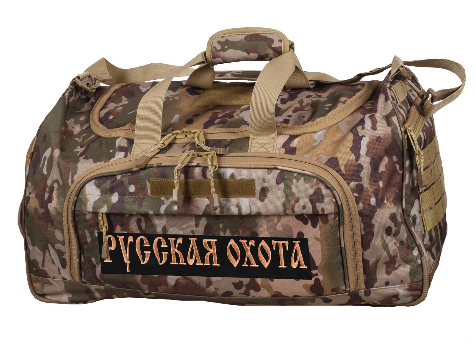 Мужская военная сумка Русская Охота, код 08032B - купить выгодно