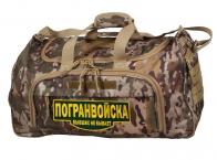 Мужская военная сумка с нашивкой Погранвойска, код 08032B