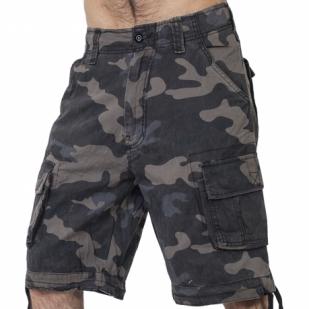 Мужские армейские шорты бермуды Brandit Woodland