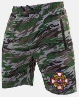 Купить мужские армейские шорты с казачьей нашивкой