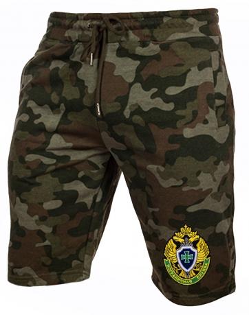 Мужские армейские шорты с нашивкой Погранслужбы