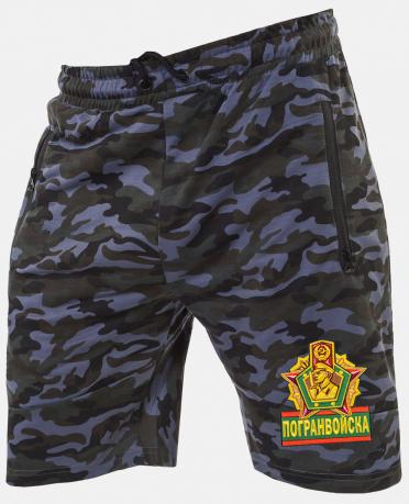 Мужские армейские шорты с нашивкой Погранвойска