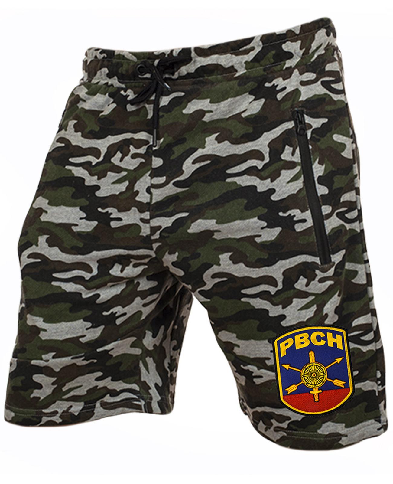 Мужские армейские шорты с нашивкой РВСН