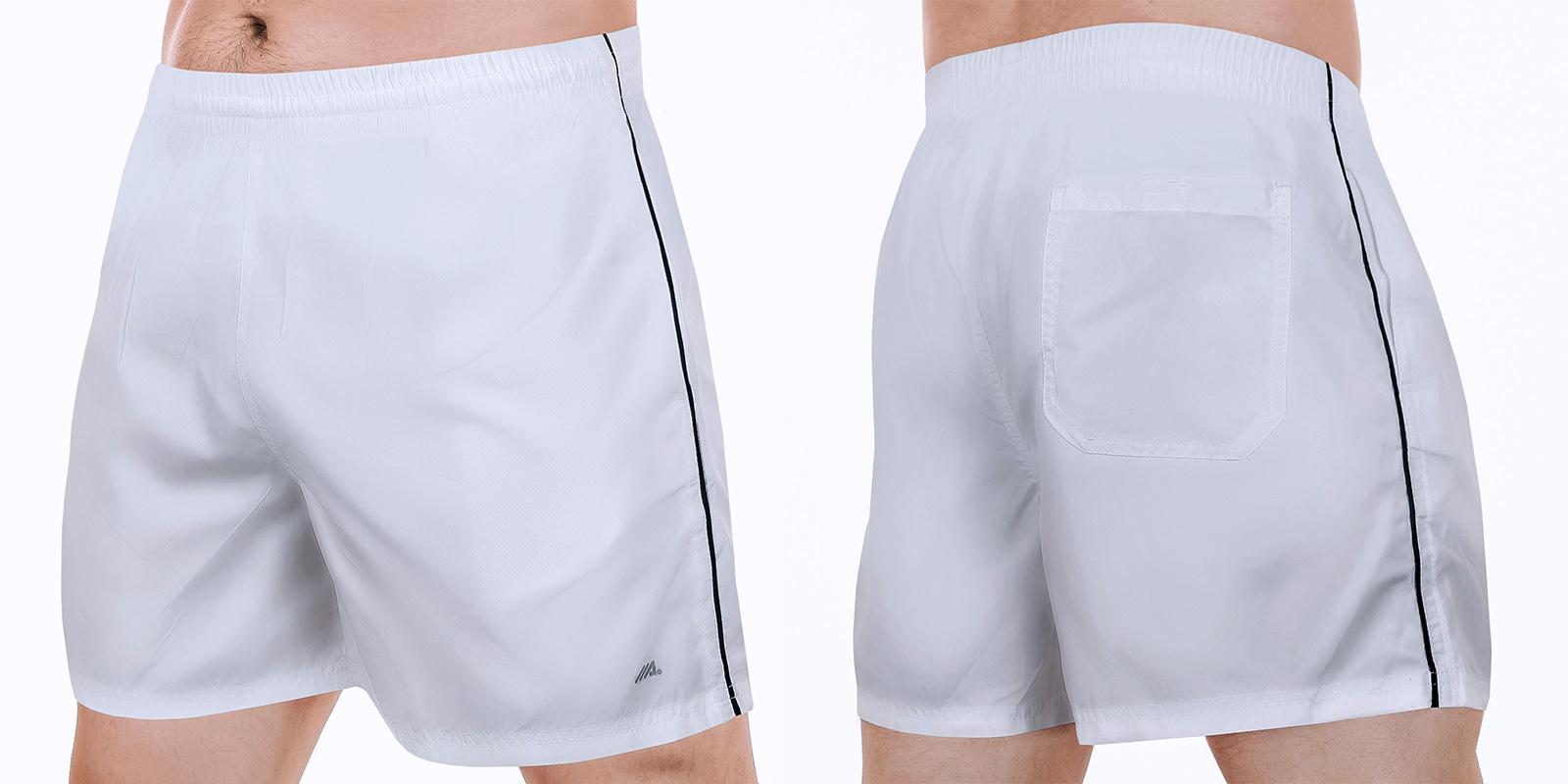 Заказать мужские белые шорты от MACE всегда в моде, точняк девушки оценят