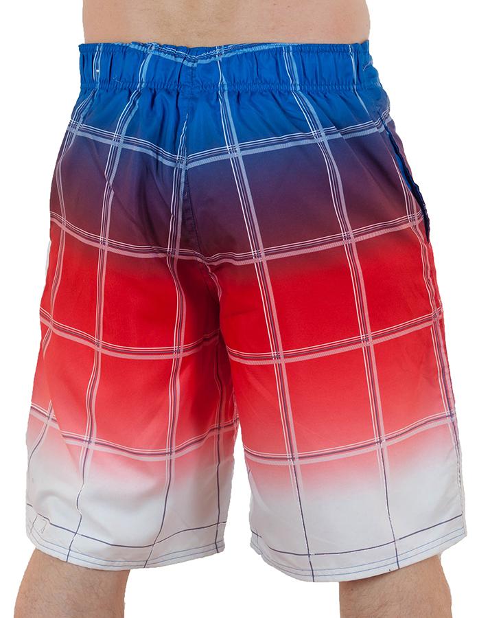 Заказать мужские бордшорты триколор от бренда Merona™