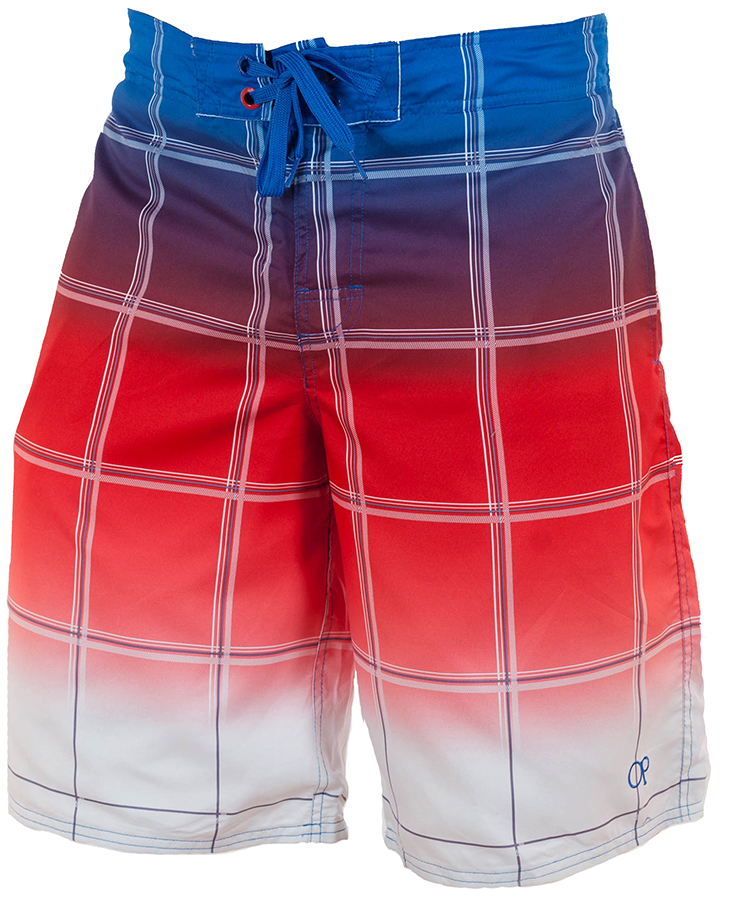 Купить мужские бордшорты триколор от бренда Merona™ по лучшей цене