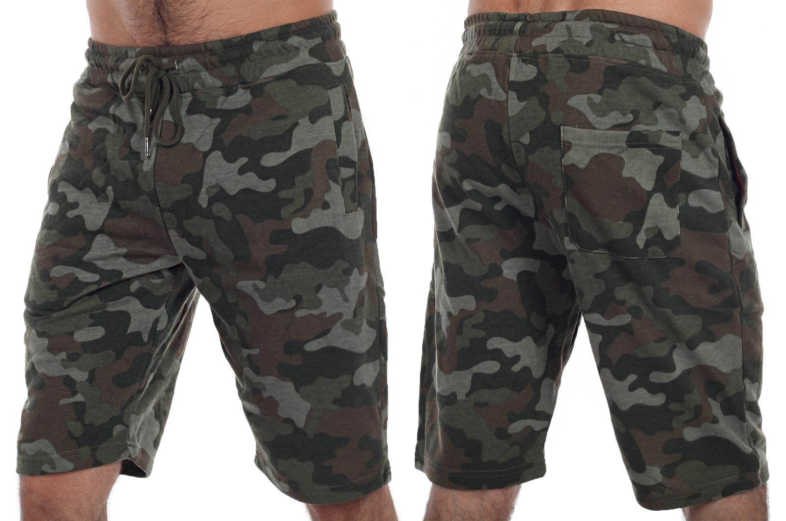 Хлопковые мужские camo-шорты из милитари линейки ТМ IZZUE