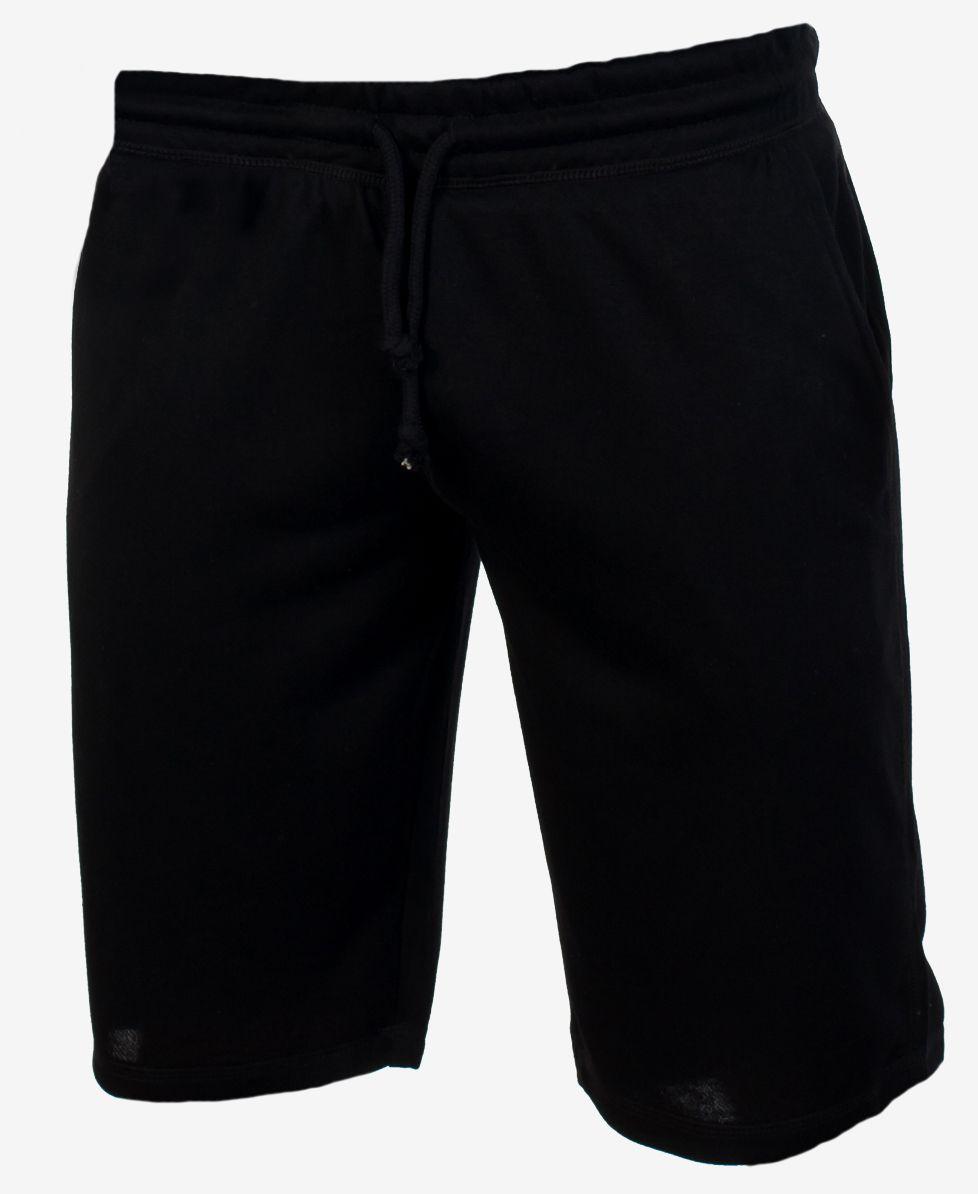 Мужские черные шорты | Новая коллекция трикотажных шорт