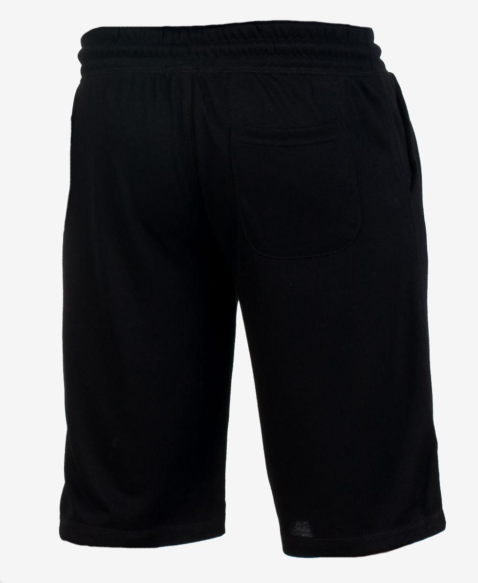 Мужские черные шорты по выгодной цене