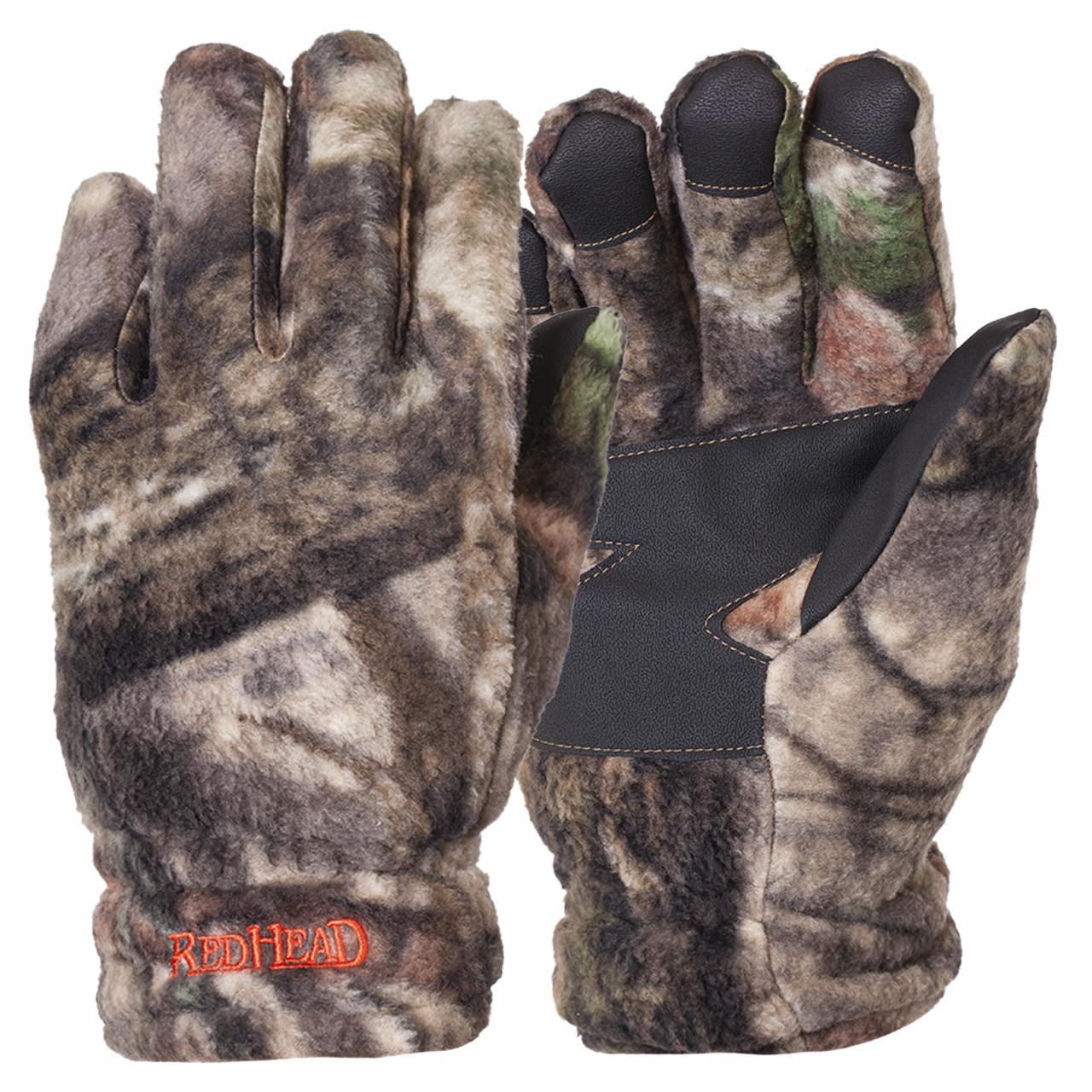 Охотничьи мужские перчатки на флисе
