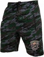 Мужские хлопковые шорты  нашивкой Рыболовный спецназ