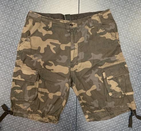 Мужские камуфлированные шорты от Brandit