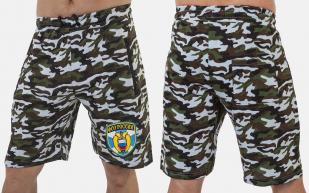 Мужские камуфлированные шорты с нашивкой ФСО - заказать онлайн