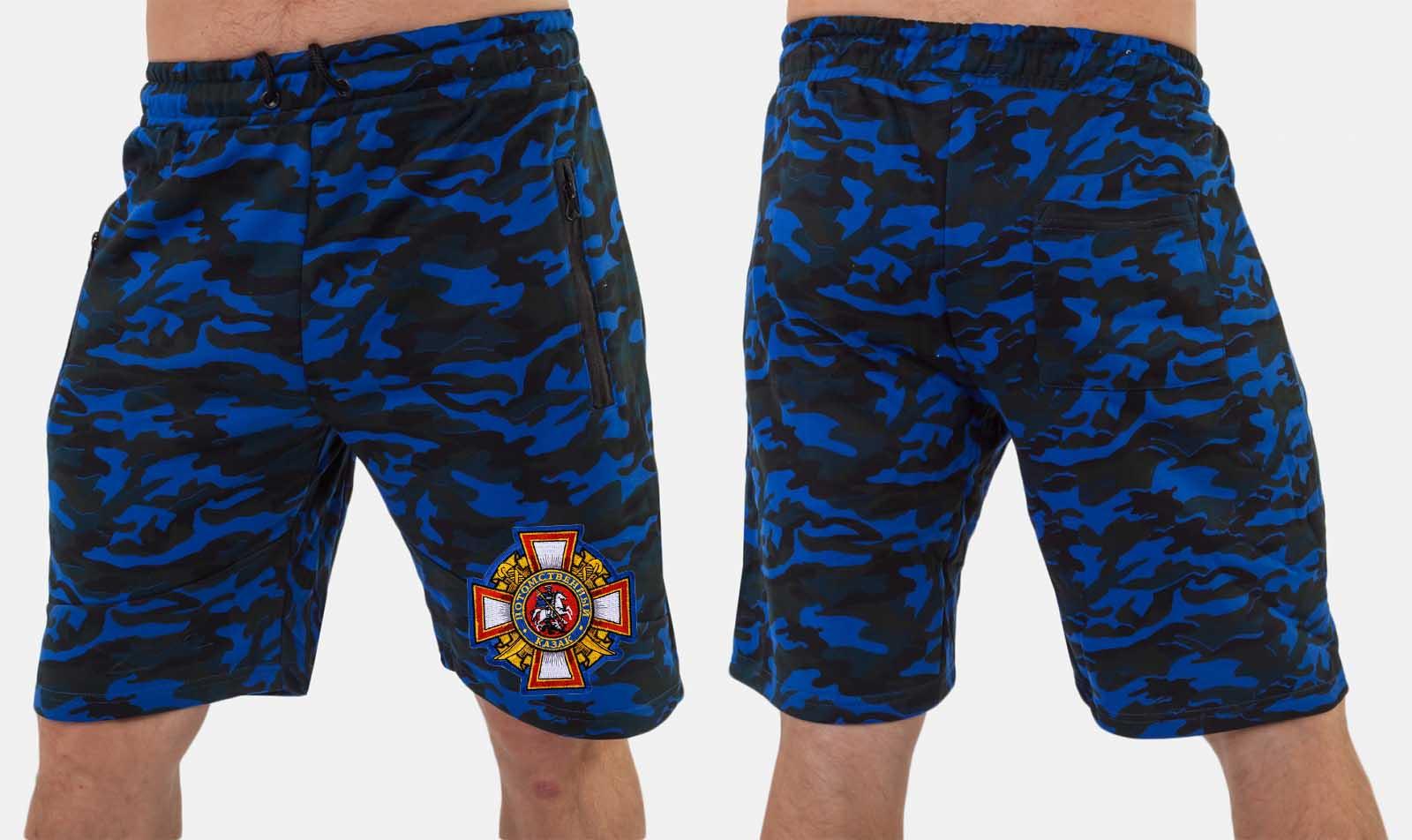 Мужские камуфляжные шорты до колен купить оптом