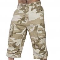 Мужские шорты карго в камуфляже Sandstorm Brandit