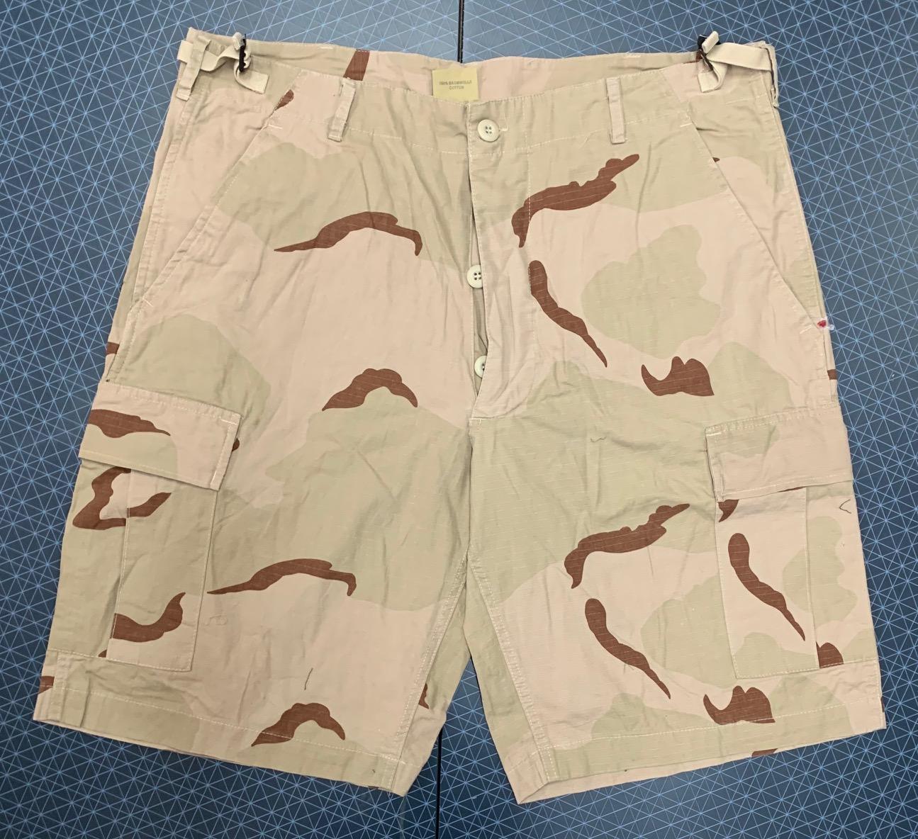 Мужские камуфляжные шорты Miltec