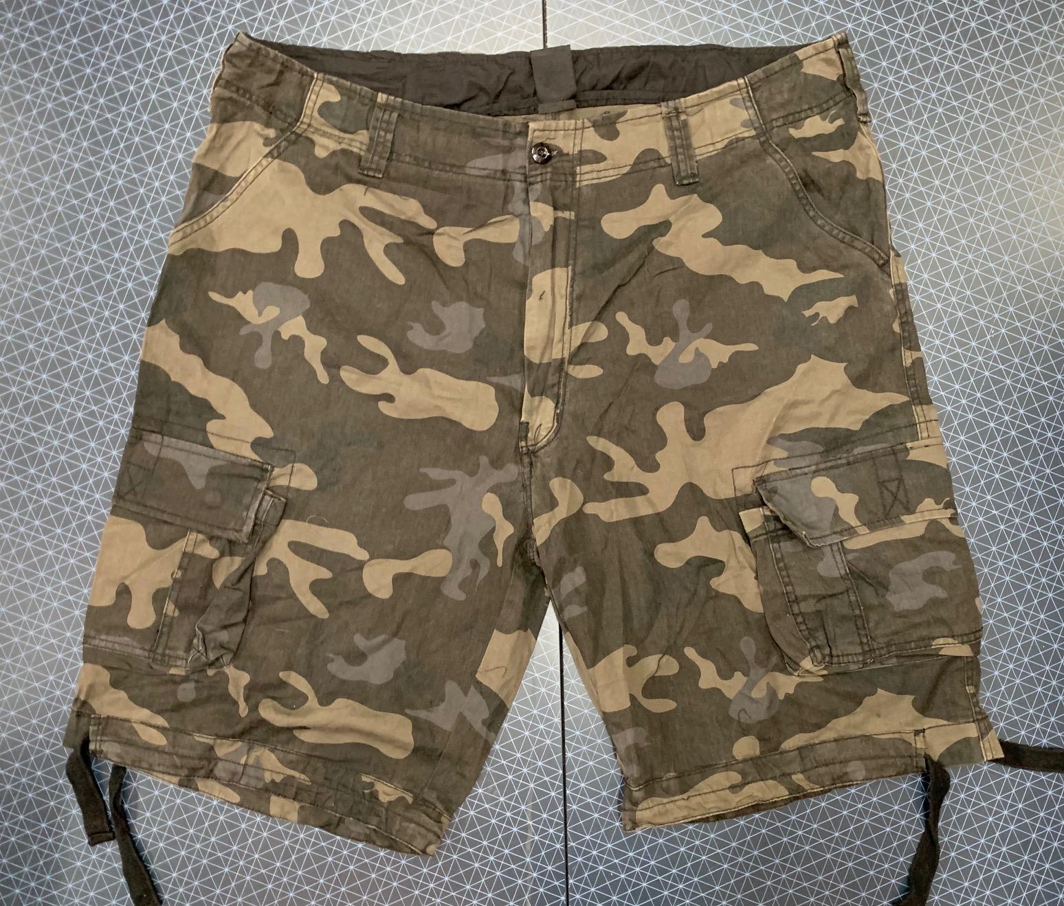 Мужские камуфляжные шорты от Brandit