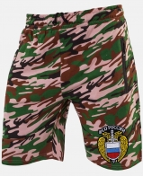 Купить мужские камуфляжные шорты с эмблемой ФСО