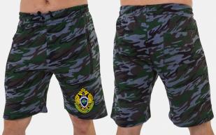 Мужские камуфляжные шорты с карманами купить оптом