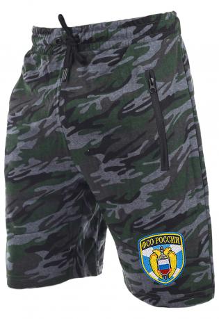Мужские камуфляжные шорты с нашивкой ФСО
