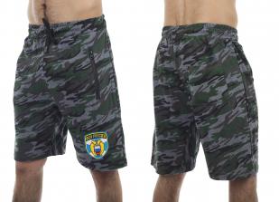 Мужские камуфляжные шорты с нашивкой ФСО - купить в розницу
