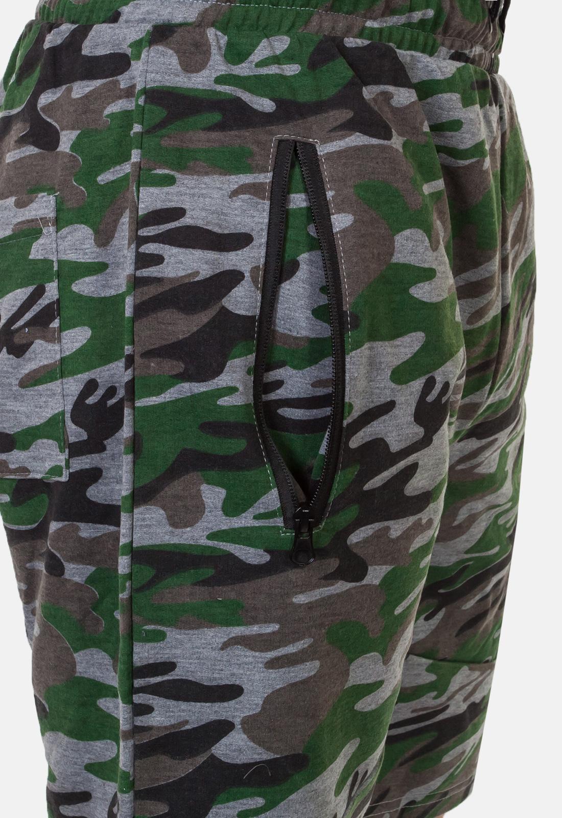 Мужские камуфляжные шорты с нашивкой Погранслужбы купить оптом