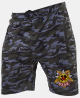 Мужские камуфляжные шорты с нашивкой РХБЗ