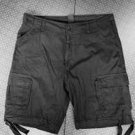 Шорты мужские карго черного цвета Brandit