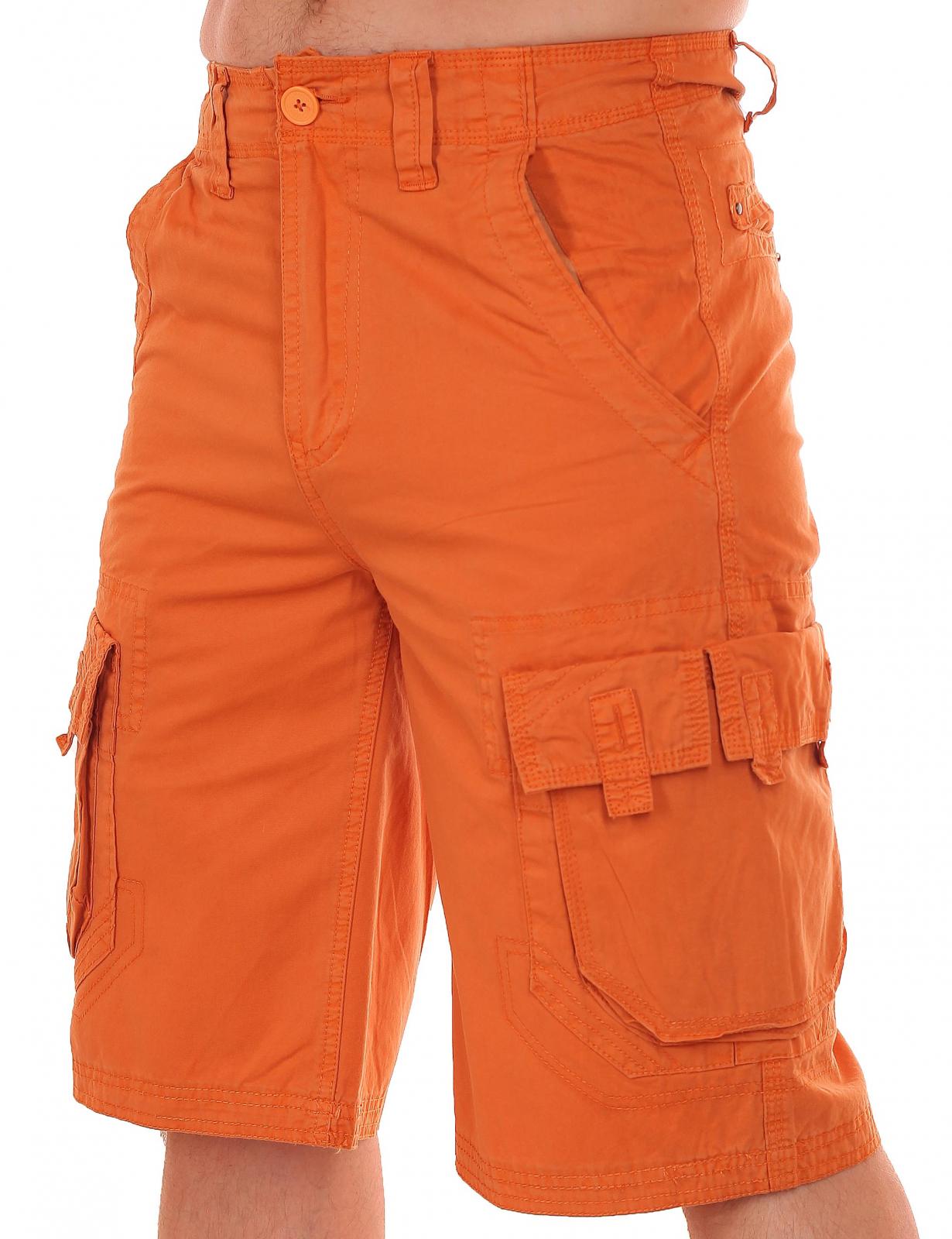 Оригинальные оранжевые мужские шорты от Grind House