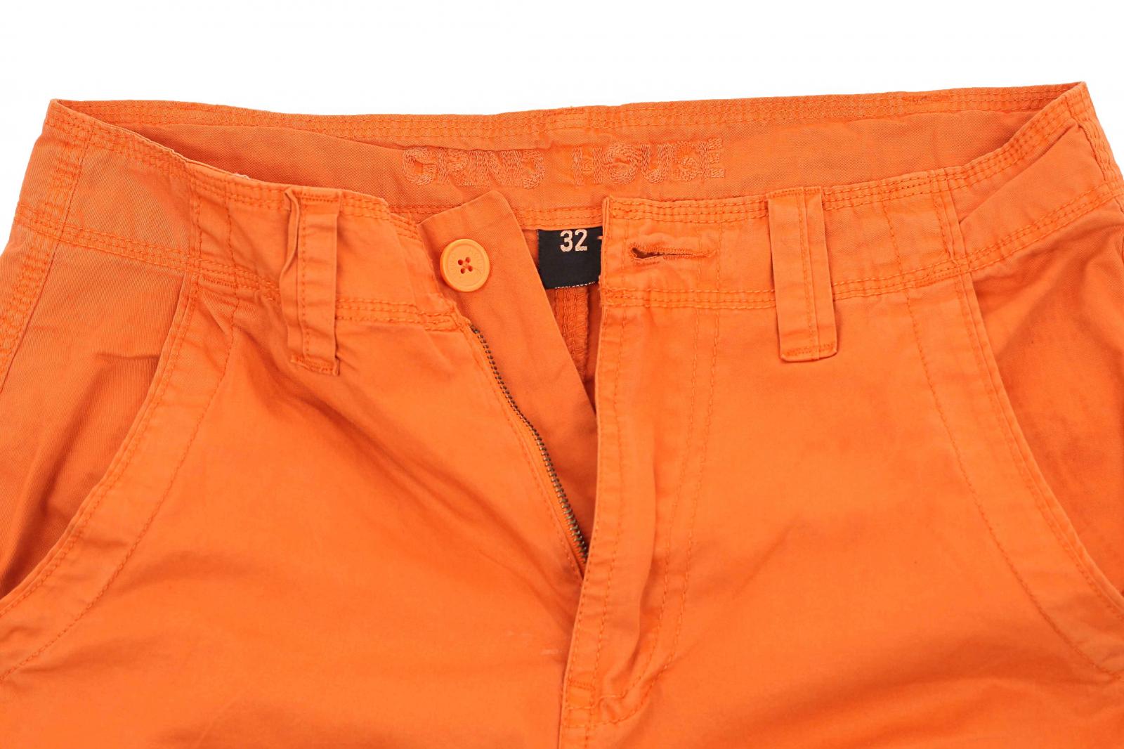 Оригинальные оранжевые мужские шорты от Grind House с доставкой