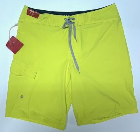 Мужские летние шорты лимонного оттенка