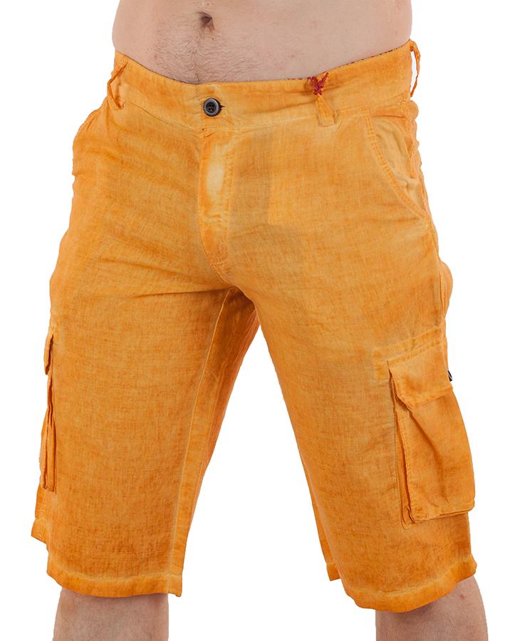 Купить мужские льняные шорты от бренда Enos