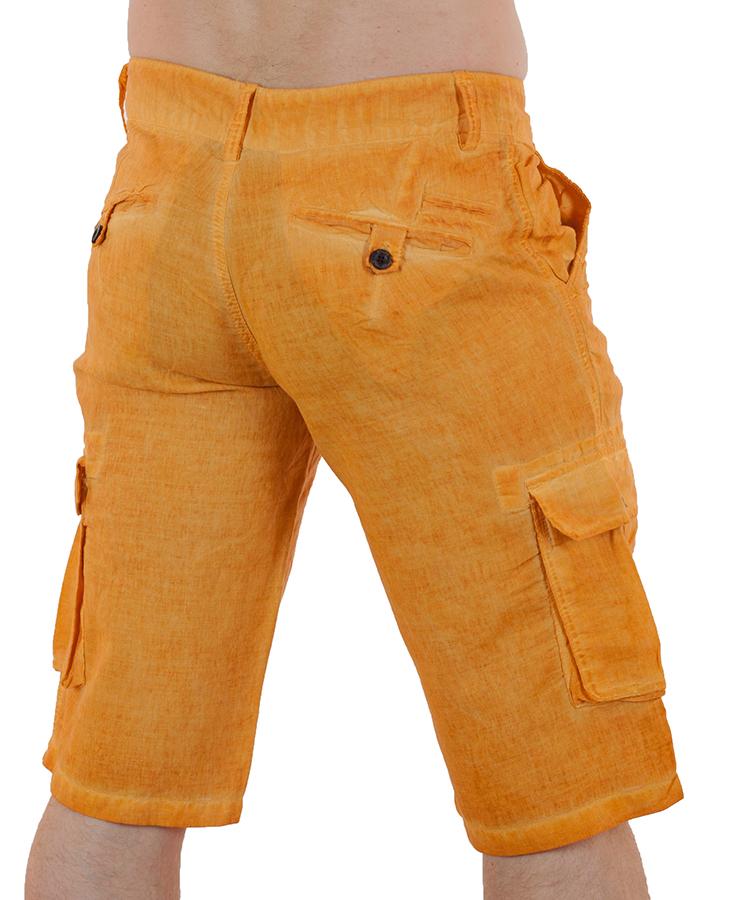 Заказать мужские льняные шорты от бренда Enos