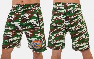 Мужские милитари-шорты рыбака с вышитой нашивкой