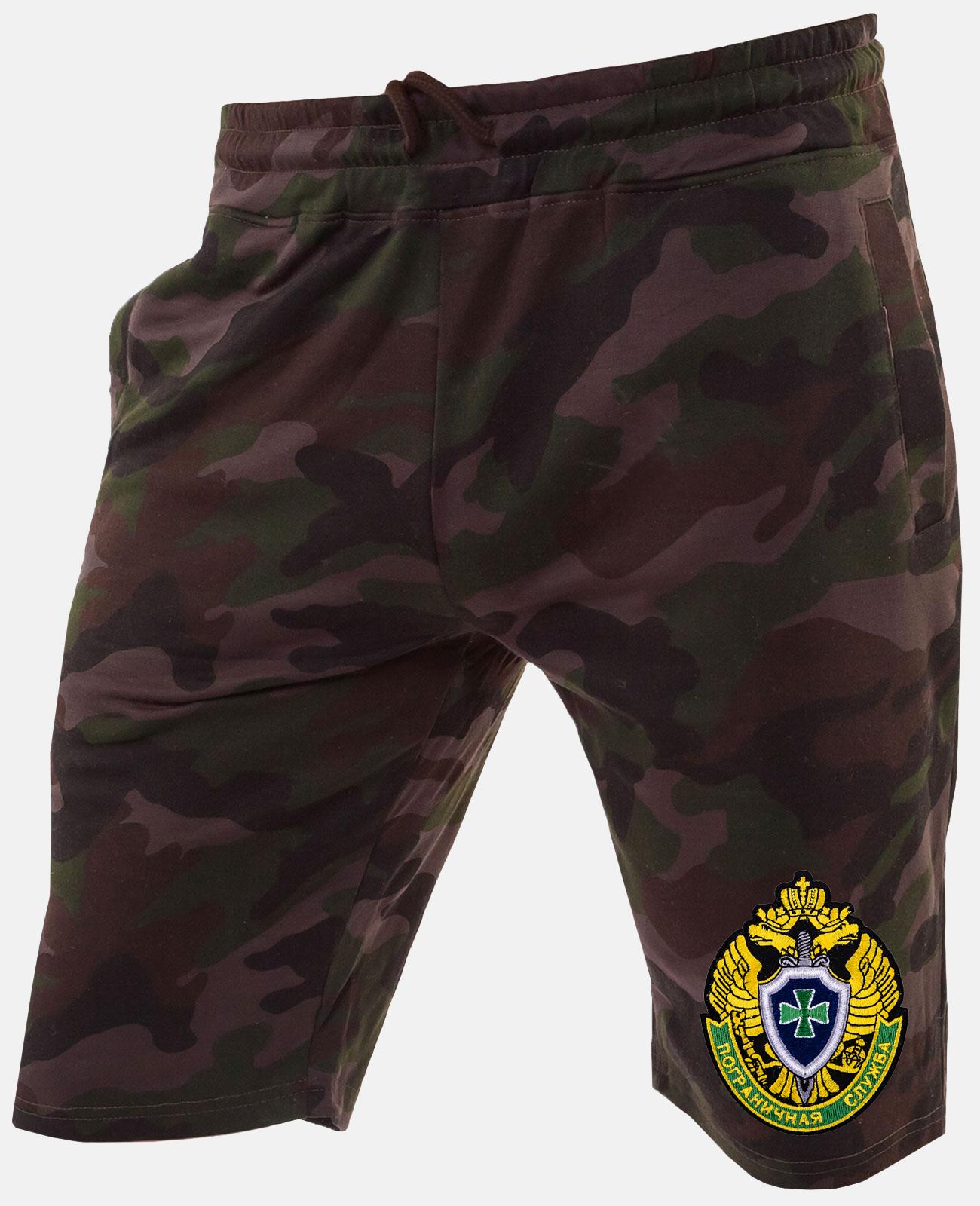 Мужские милитари шорты с эмблемой ПС