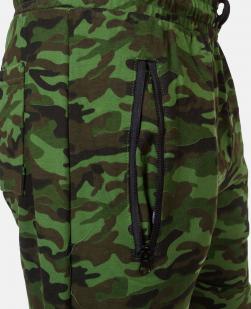 Мужские милитари шорты с нашивкой Россия - купить с доставкой