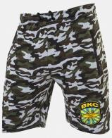 Мужские милитари шорты с нашивкой ВКС - купить выгодно